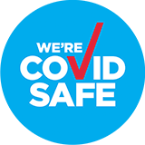 We're Covide Safe